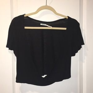 Urban Outfitters Tops - Urban outfitters Black top!